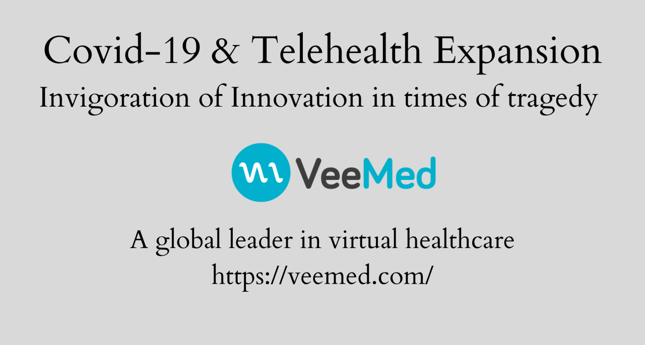 telehealth and covid 19 banner